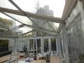ガーデンウエディングテント施工