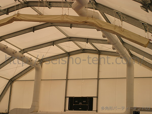 多角形ドームテント写真3