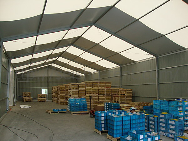 倉庫テント写真5